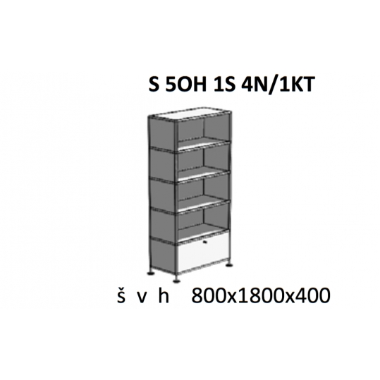 S 5OH 1S 4N/1KT