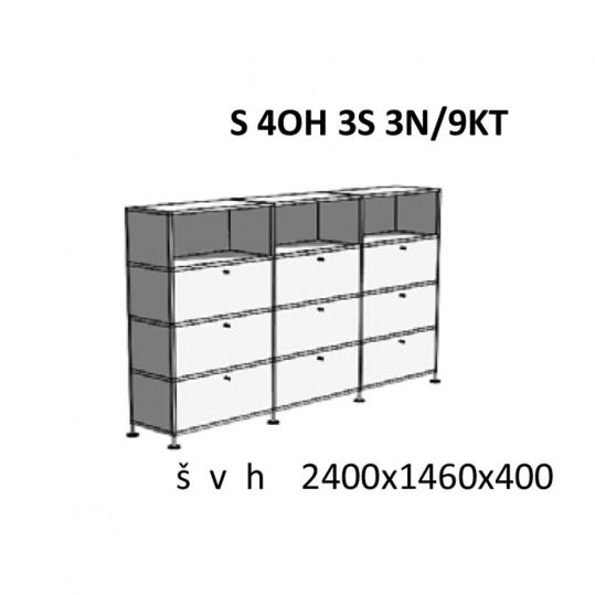 Skříňky kombinované S 4OH 3S