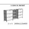 Skříňky kombinované S 3OH 3S